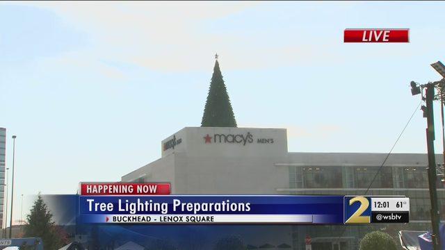 TREE LIGHTING ATLANTA: Join us LIVE for the lighting of the Macy's