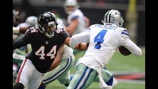 Cowboys beat the Falcons on last-second field goal