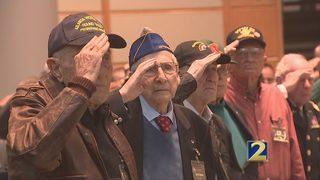 Cox Enterprises hosts ceremony for veterans