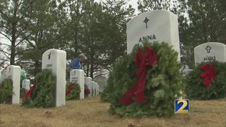 Holiday wreaths available to honor veterans