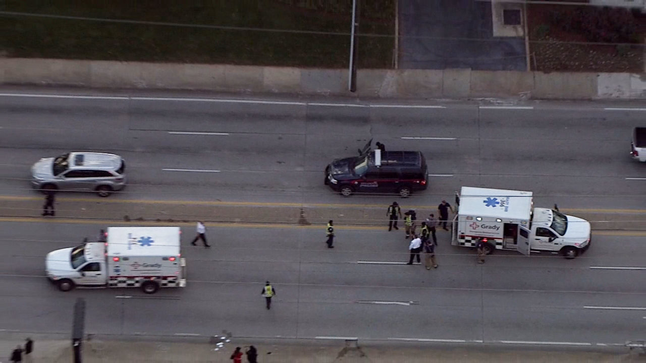 Two officers involved in motorcycle accident near I-85