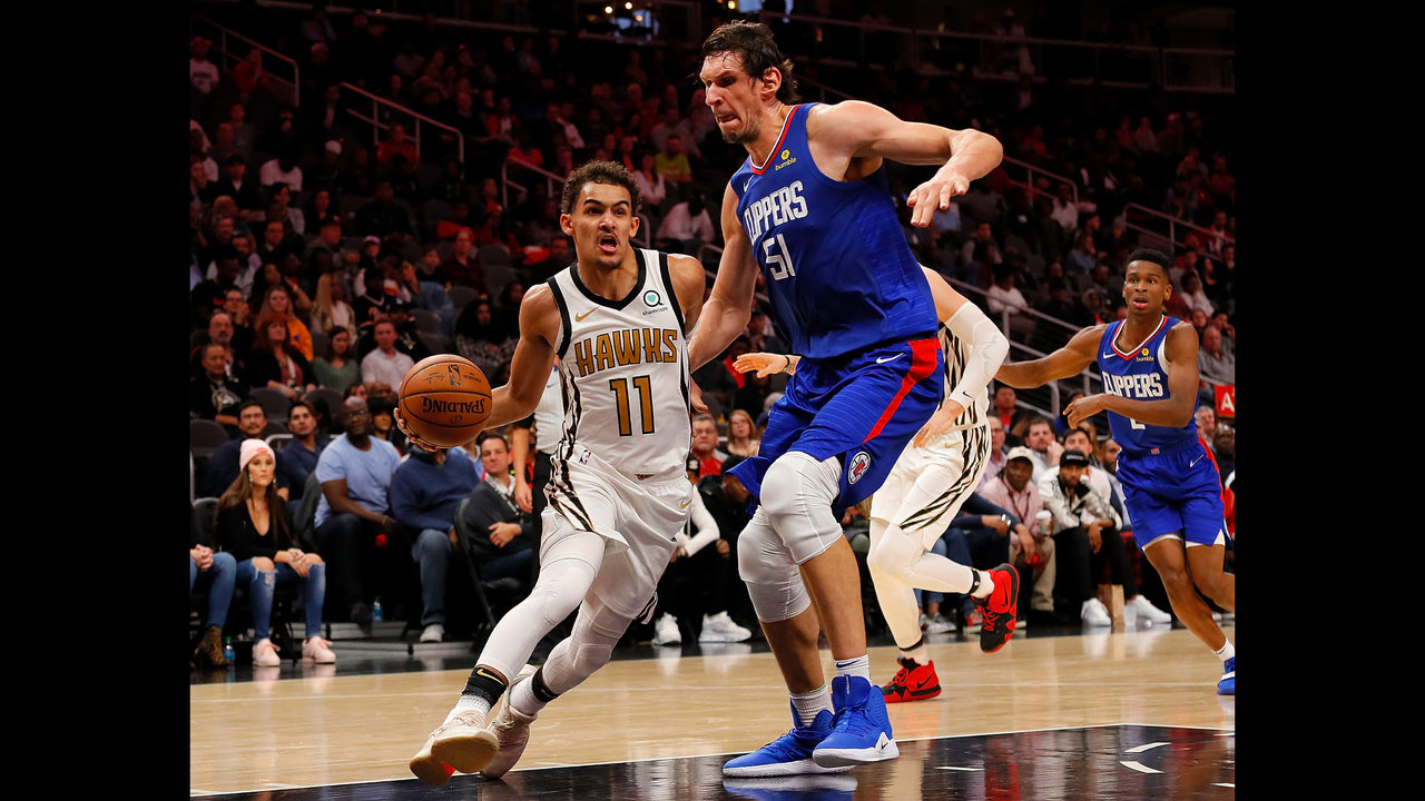 b23d9c218 Trae Young s big night not enough as Clippers rally past Hawks