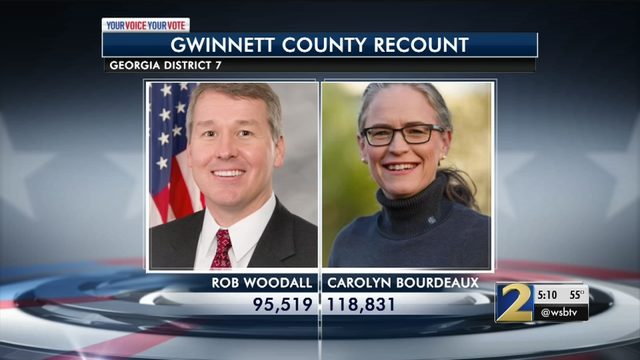 After recount, Woodall holds on to 7th District