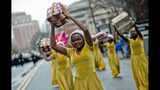 A dance team participates in the annual Children's Christmas Prade in Atlanta. (JONATHAN PHILLIPS / SPECIAL)