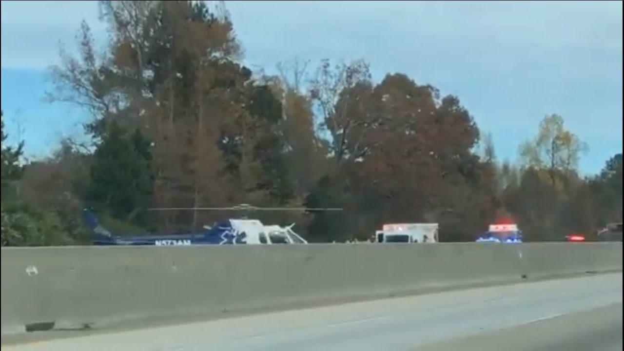 ATLANTA TRAFFIC: 3 injured in crash on I-85 SB in Coweta