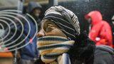 Cold temperatures will stick around in metro Atlanta Monday.
