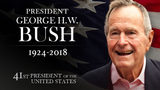 Former President George H.W. Bush died Friday night at the age of 94.