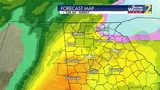 """Heavy rainfall (2-3"""") is likely this weekend. The risk for a wintry mix or snow in NE Georgia continues."""