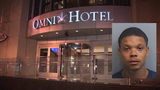 2 shot after party at Omni hotel; suspected gunman arrested