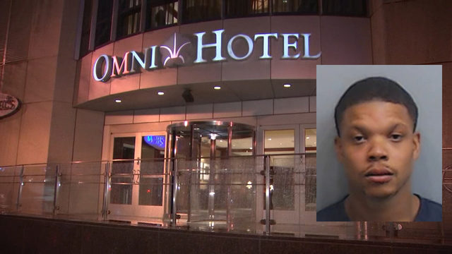 CNN security officers capture hotel shooting suspect