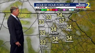 Cloudy with temps in the 30s to start your Wednesday