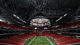 ATLANTA, GA - AUGUST 15: A general view inside Mercedes-Benz Stadium, host to Super Bowl LIII. (Photo by Kevin C. Cox/Getty Images)