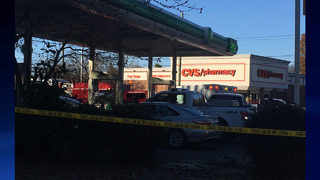 Officer shot in vest during traffic stop; female suspect killed