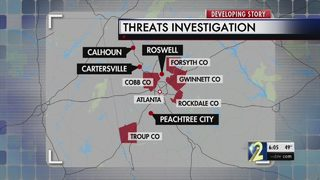 Georgia among states targeted by nationwide bomb threats
