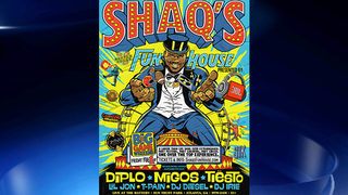 Shaq announces circus/concert during Super Bowl weekend in Atlanta