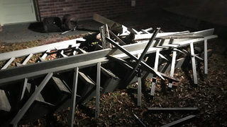 Multiple members of 1 family injured in deck collapse at Christmas party