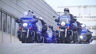 Law enforcement escort fallen DeKalb County officer on his final trip home