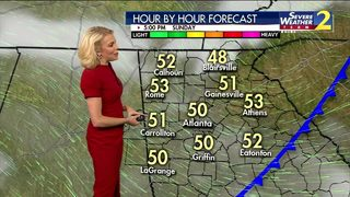Cooler, drier air moves in for Sunday evening