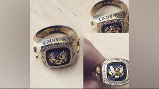 Woman trying to return US Army ring found at Dairy Queen