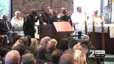 RAW VIDEO: Fellow officers give eulogy in honor of fallen officer