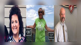 The three victims who died have been identified as Robert Atkinson, 56, Renea Greiner, 55, and Michelle Seay, 50.