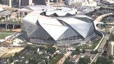 Mercedes Benz Stadium from NewsChopper 2