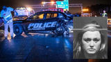 Drunk driver was 3x legal limit when she slammed into patrol car on Ga. 400