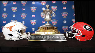 Georgia overpowered, upset by Texas in Sugar Bowl