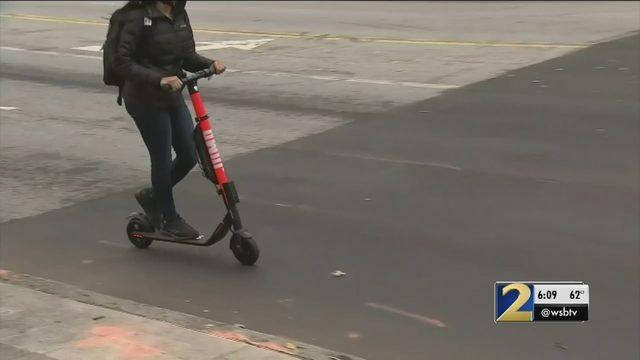 ATLANTA SCOOTER RULES: City Council passes ordinance banning