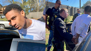Murder suspect, alleged gang member captured after woman recognizes tattoo