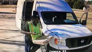 Amazon deliveryman crashes into family