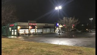 3 teens shot at busy shopping center, police say