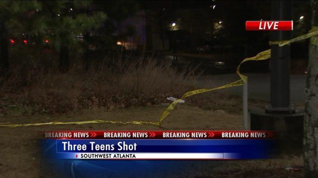 3 teens shot at busy shopping center, police say | WSB-TV