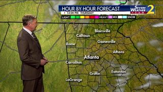 Early morning showers possible Thursday