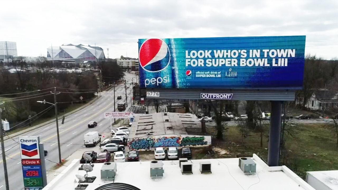 Cola Wars: Pepsi invades Coke City ahead of Super Bowl | WSB-TV