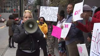 Dozens rally, demanding justice for woman allegedly sexually assaulted in local club