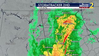 Heavy rain causes flooding across north Ga.; flash flood watch in effect for parts