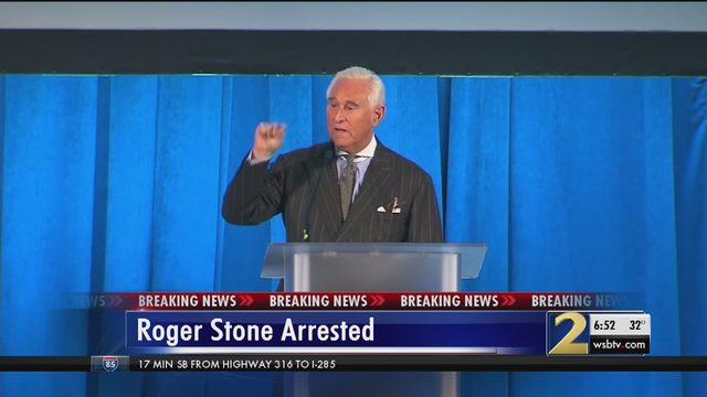 Image result for fbi arrests roger stone tv