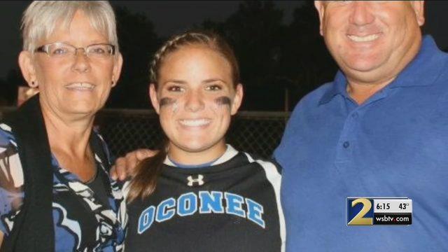 Community remembers standout Georgia softball player, 24
