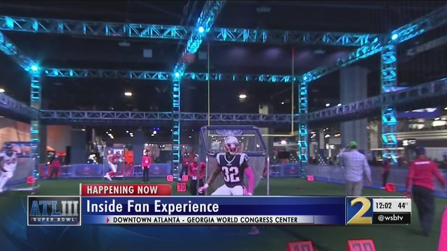 SUPER BOWL EXPERIENCE ATLANTA: Can't afford the Super Bowl? Try the