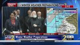 State officials give update on plans for winter weather