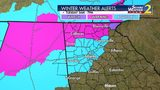 Winter weather advisory beginning 4 a.m. Tuesday