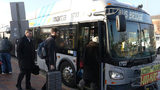 MARTA bus service has been disrupted by labor unrest for a second day.