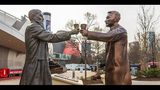 Super Bowl cola wars: Pepsi statue offers truce in Coke country