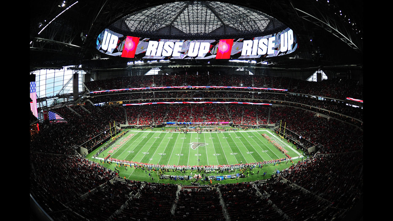 Falcons want the NFL's best home-field advantage. Here's how they plan to get it