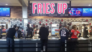 This is what happens at Mercedes-Benz Stadium when Chick-Fil-A is closed