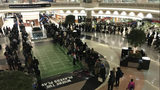 Atlanta airport line after Super Bowl