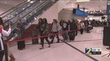 Super Bowl Exodus: Security lines stretch through atrium at Hartsfield-Jackson