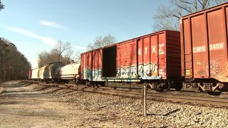 Dead chickens, raw hamburger – what are they doing on local railroad tracks?