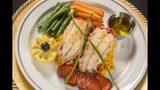 Lobster tails are on the prix fixe menu at Petite Violette. Photo: Petite Violette